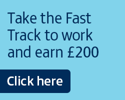 Fast Track your way to work and earn a £200