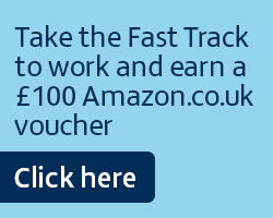Fast Track your way to work and earn a £100 Amazon.co.uk voucher